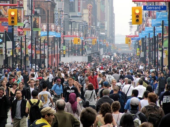 Does Living in Crowded Places Drive People Crazy?