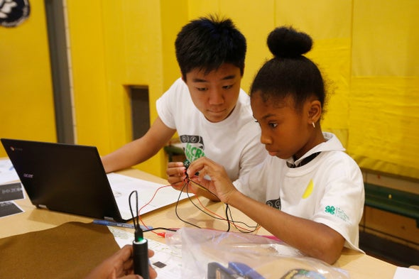 From Farming to Fitness Trackers: 4–H National Youth Science Day