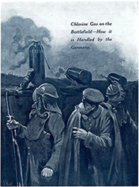 A War of Poison Gas, 1915