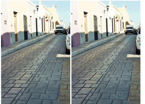 The Tilted Road Illusion