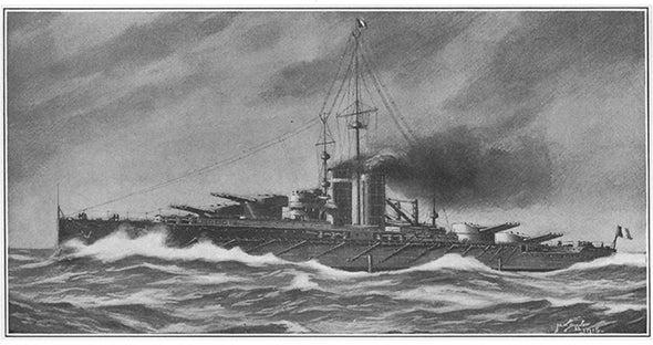 Battleship Optimism Ignores Reality, 1915