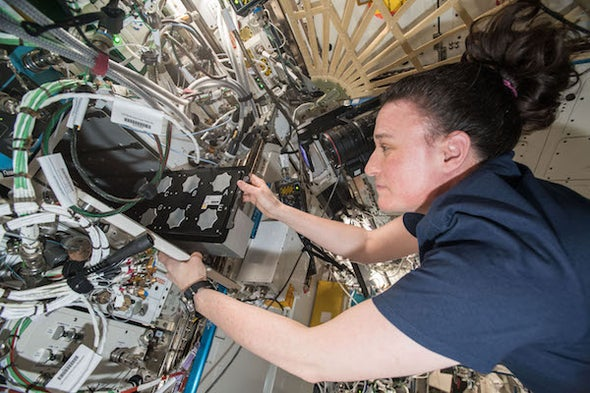 The International Space Station as a Teaching Tool