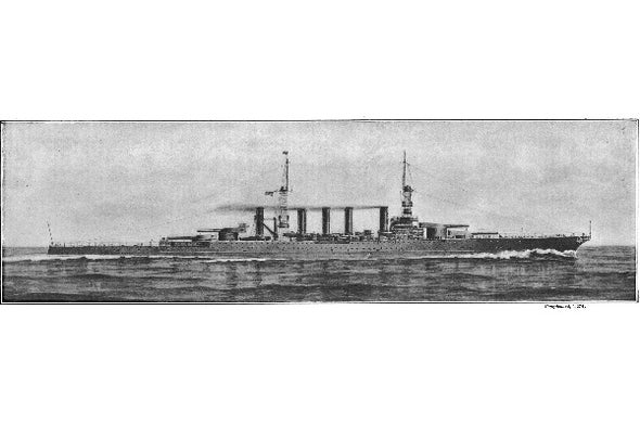 Battle-Cruiser: A Flawed Ship Design from 1916