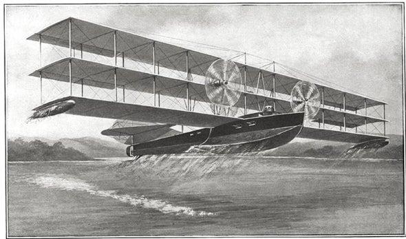Flying Battleship, 1915