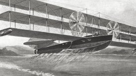 Flying Battleship, 1915
