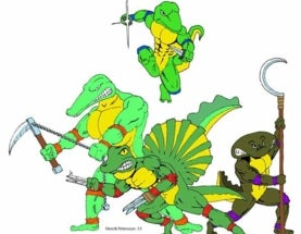 Teenage Mutant Ninja Temnospondyls
