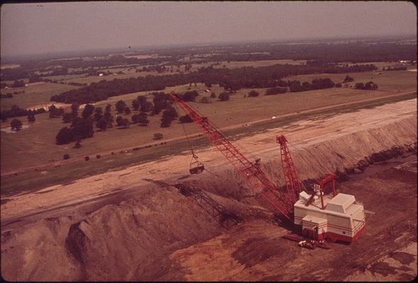 Strip-Mining Coal in the Heart of Texas