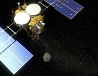 At Asteroid Ryugu, Japan's Hayabusa 2 Spacecraft Preps for Exploration