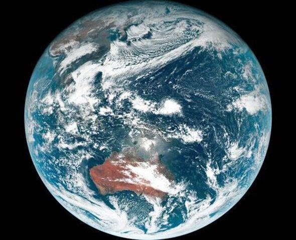 Experience Earth Like an Astronaut: Glittering Blue
