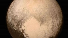 Is It Snowing on Pluto?