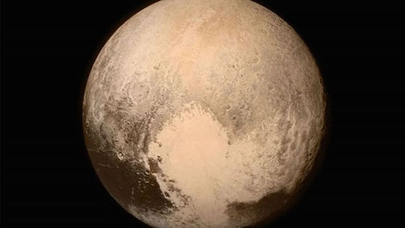 Is It Snowing on Pluto?