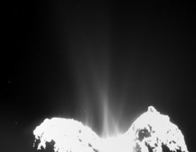 Rosetta pours cold water on cometary origins of Earth's oceans