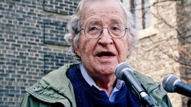 "Noam Chomsky Calls Trump and Republican Allies ""Criminally Insane"""