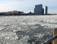 NYC's East River Ice Floes Are a Throwback to the 1800s [Video]