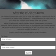 What Will We Build After the #SciArt Storm?
