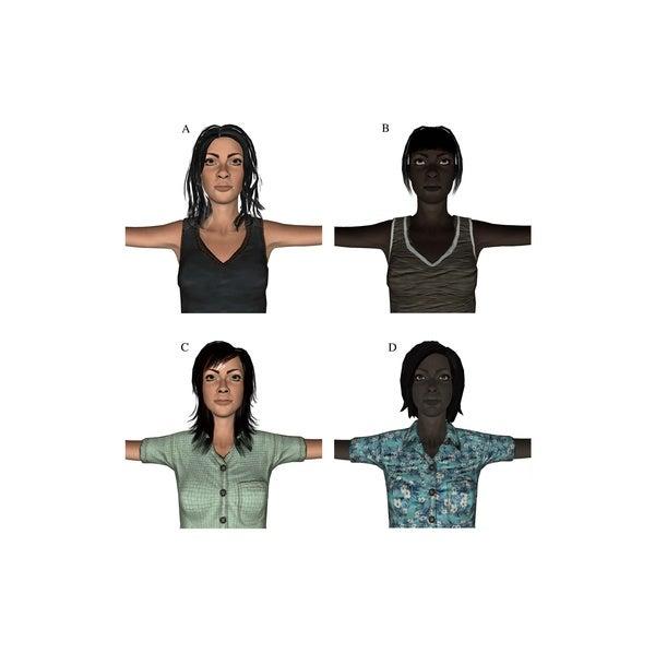 A Virtual Trick to Remove Racial Bias