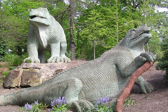The Dinosaurs of Crystal Palace: Among the Most Accurate Renditions of Prehistoric Life Ever Made