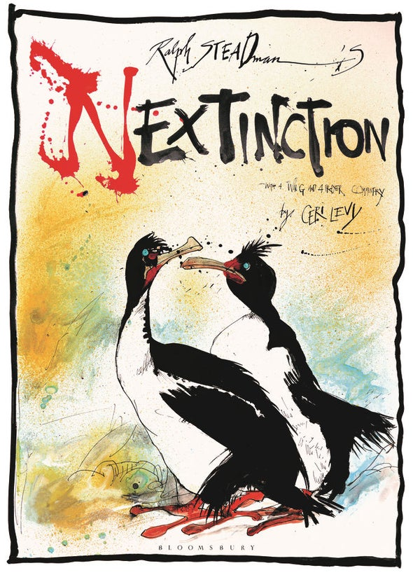 Nextinction: Ralph Steadman Goes Gonzo for Endangered Birds