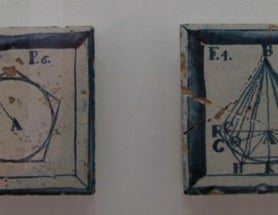 Origin of Mysterious Portuguese Mathematical and Geographical Tiles Revealed