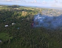 Kilauea Erupts Fountains of Fire in Leilani Estates