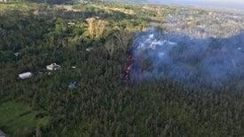 Kilauea Erupts Fountains of Fire in Leilani Estates