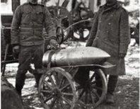 Heavy Guns Blast Trenches, 1915