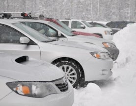 Brrrrrr - it's cold outside! Taking a look at winter car idling