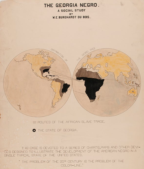 W.E.B. Du Bois, <i>Scientific American</i> and Data Stories of the Early 1900s