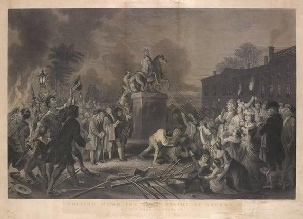 The History behind the King George III Statue Meme