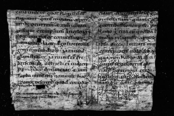 Peering beneath the Surface of Ancient Manuscripts