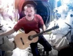 SciAm/Read Science! Hangout with Astronaut Chris Hadfield!