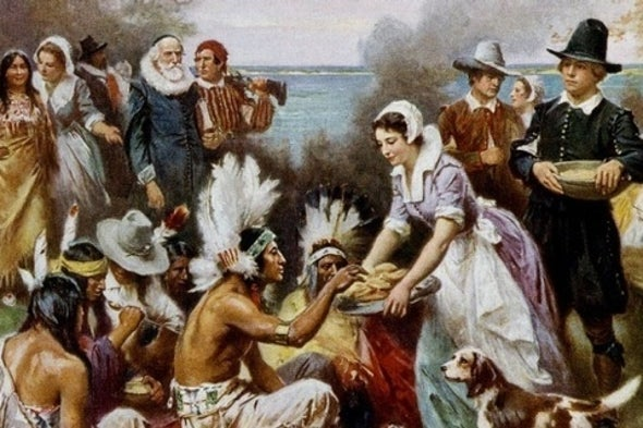 """Thanksgiving and the Myth of Native American """"Savages"""""""