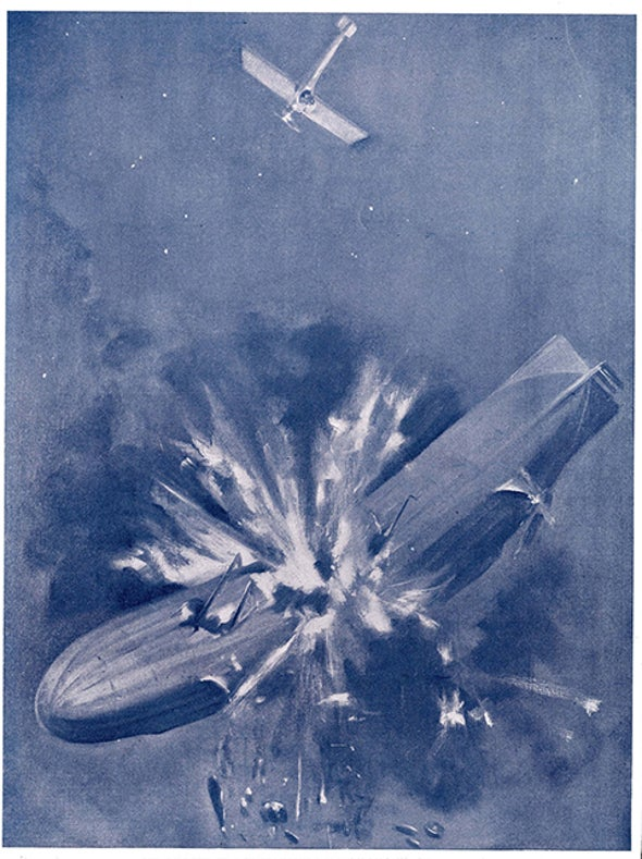 Fighting Zeppelins with Airplanes, 1915