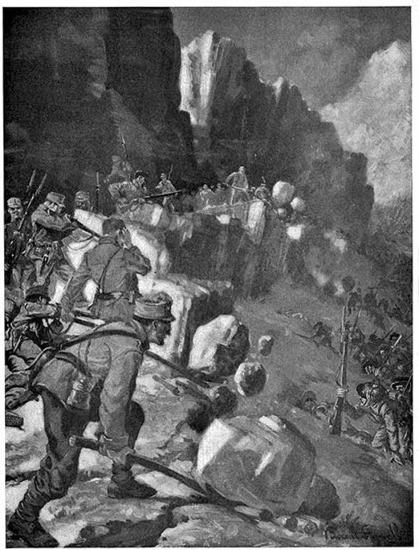"""""""Primitive Warfare"""" in 1915"""