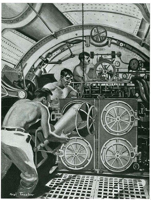 The Teeth of the Submarine, 1915