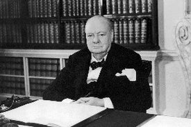 Winston Churchill's Thoughts on Evolution