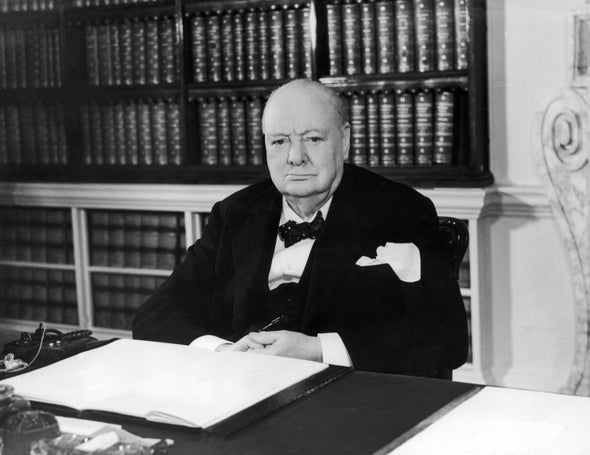 Winston Churchill's Thoughts on Evolution