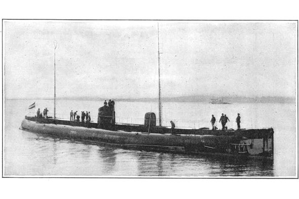 A Political Submarine, 1916 - Scientific American Blog Network