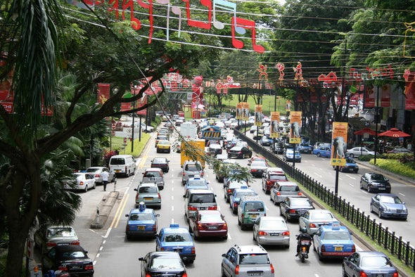 Singapore Is Banning Additional Cars from the Road to Gain Control of Traffic