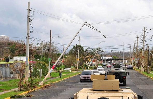 Hurricane Maria Dealt a Devastating Blow to Puerto Rico's Electric Grid