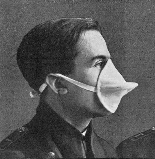 Defense against Poison Gas, 1915