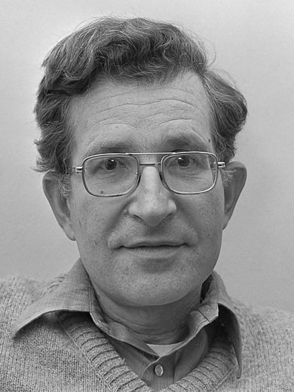 Noam Chomsky Is So Antiestablishment He Disses Himself
