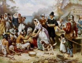 Thanksgiving and the Slanderous Myth of the Savage Savage