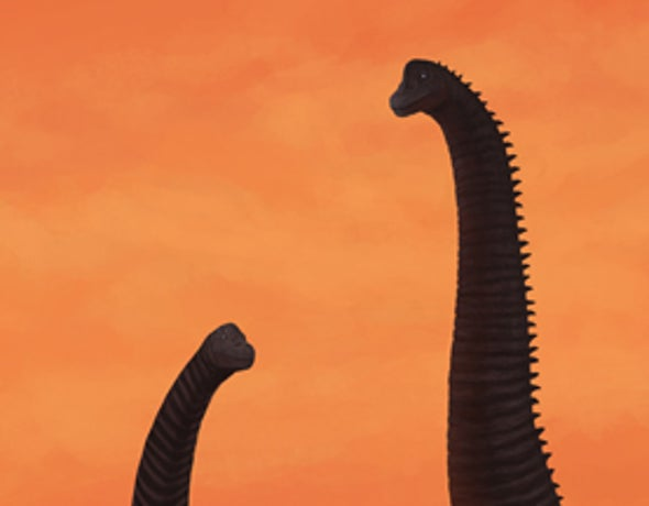 Brachiosaurs at Dusk