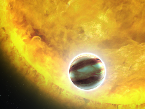 Just Another Cloudy Morning on a Hot Exoplanet