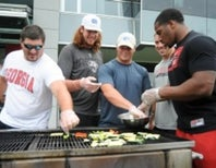 Merging heavy and healthy: The football player diet