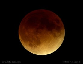 Total Lunar Eclipse Visible Across North America Wednesday Morning