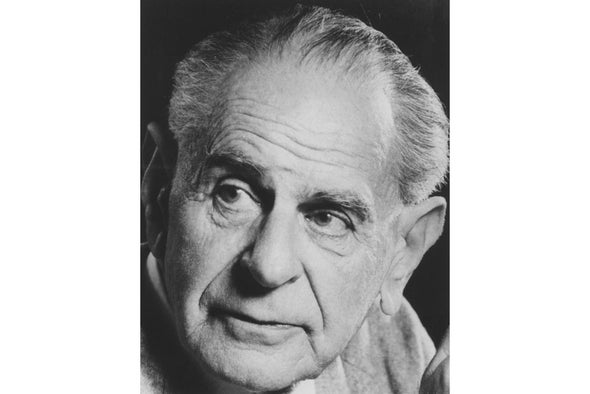 The Paradox of Karl Popper