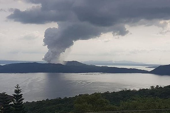 Updates on Puerto Rico and Whakaari/White Island, Plus Taal Volcano Erupts