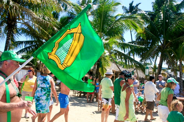 It's True: We're Probably All a Little Irish--Especially in the Caribbean